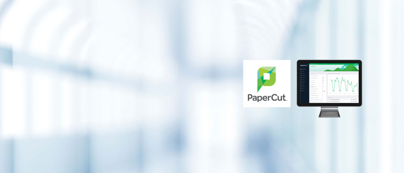 Integrated PaperCut print & copy management